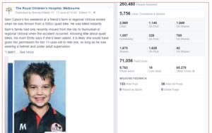 RCH Facebook: quad post